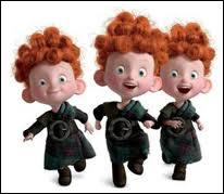 In which movie can we see these adorable redhead triplets ?