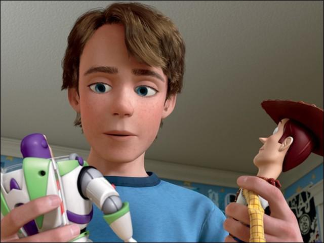 Who is this young boy whose 2 favorite toys are Woody the cowboy and Buzz Lightyear ?
