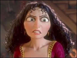 How does evil mother Gothel disappear in Rapunzel ?