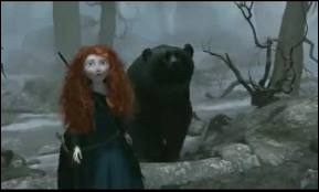How is the fierce bear killed in Rebel ?