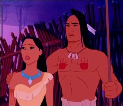 How does Kocoum, the warrior engaged to Pocahontas, die in the film ?