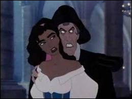 How does the ignoble Frollo disappear in 'The Hunchback of Notre-Dame' ?