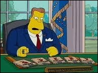 Which President of the United States makes the serious decision to isolate the city of Springfield under a dome ?