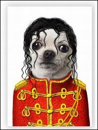 He is the King of Pop :