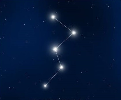 What is the constellation in the form of a W ?