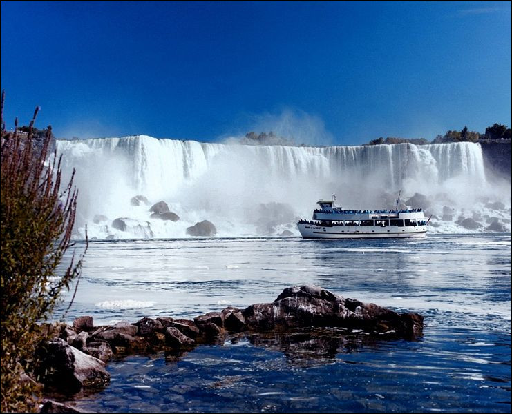 How many waterfalls is Niagara Falls made up of ?