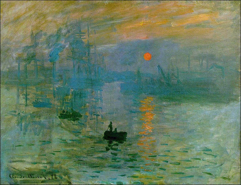 The term impressionism comes from the painting entitled Impression, Sunrise. Who is the author ?