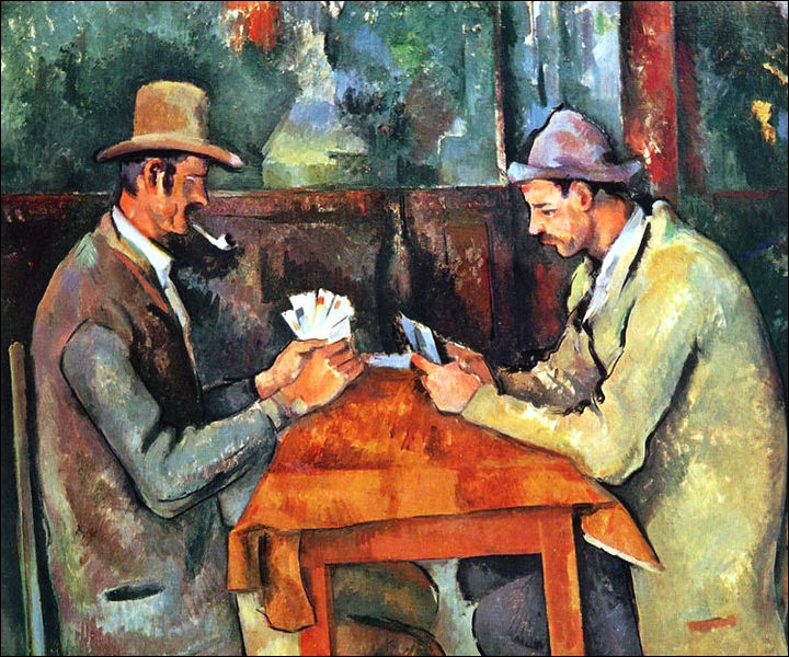 Which artist painted The Card Players ?