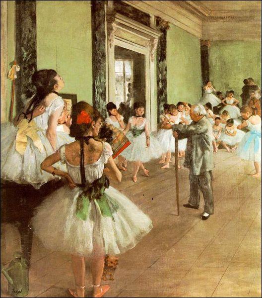 Which artist painted Classe de danse ?