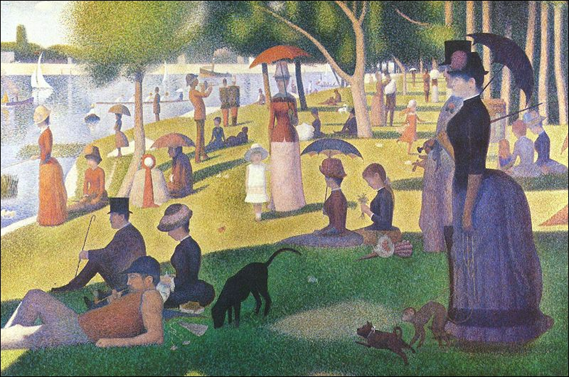 Which artist painted A Sunday Afternoon on the Island of La Grande Jatte ?