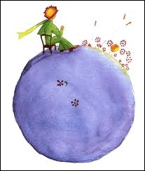 The Little Prince speaks to roses : 'You are beautiful, but you are' :