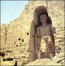 In 2001, in which country were the monumental statues of Buddha destroyed by the Taliban ?