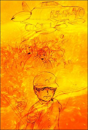 To end this expedition, I present to you a famous and very touching manga by Keiji Nakazawa :
