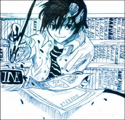 This time, a one-of-a-kind manga from the same authors as those in question 1, Takeshi Obata and Tsugumi Ohba :