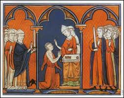 It is said that the sovereigns who were crowned in Reims received a gift. Which ?