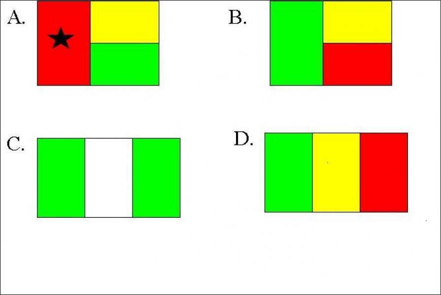 Which of these is the Beninese flag?