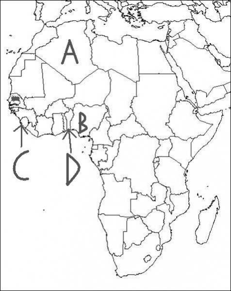 Which of these African countries is Benin?