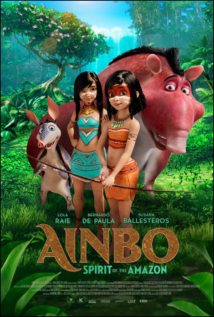 """What country is the animated film """"Ainbo"""" from?"""