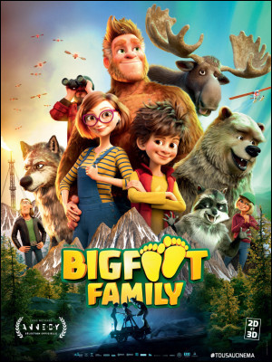 """What country is the animated film """"Bigfoot Family"""" from?"""
