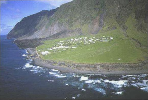 Which is the world's loneliest island? . . HINT : It is in Atlantic ocean.