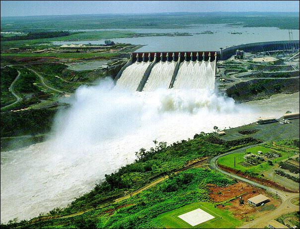 Name the world's largest single Hydroelectric Plant.