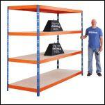 To reduce the risk of injury when lifting, where should the heaviest items be stored on a shelving unit?