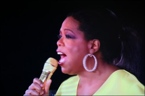 What was the title of the song Oprah sang herself for the Show?