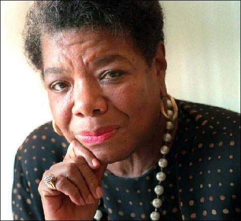 When did Oprah meet Maya Angelou?
