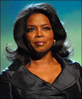 Who was Oprah's most frequent guest ever?