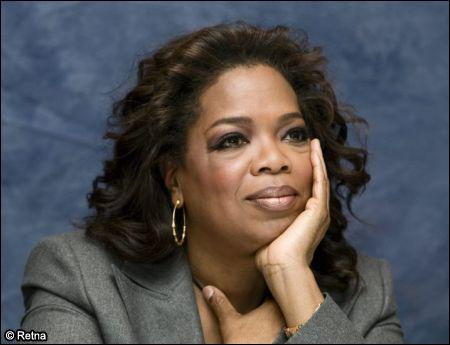 What TV Show did Oprah make a Video of the Opening Theme song for?