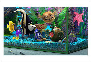 After Nemo joins them, how many fish total are in the Aquarium ?