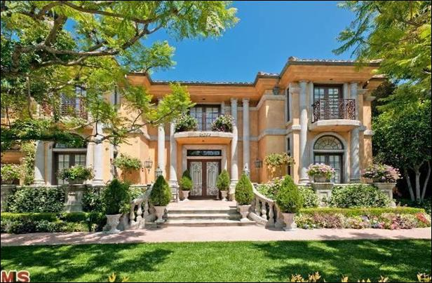 """Whose home is located in Beverly Hill? This """"winning"""" home is an entertainer's dream with a screening room, an outdoor kitchen, a pool and spa. This home is currently listed for $7. 2 million."""