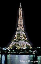 This world-famous monument caused a critical uproar from Parisians when it was first constructed.