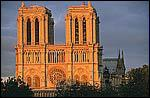 Which instrument of Christ's Passion is located in Notre Dame cathedral?