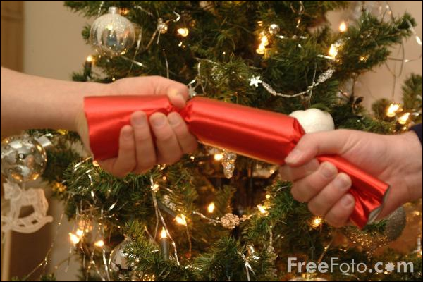 According to RoSPA (Royal Society for the Prevention of Accidents), what is the biggest risk from pulling a cracker at Christmas?