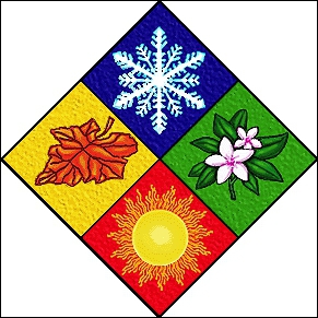 Which of the following is the primary cause for the changing seasons on Earth?