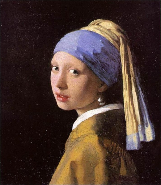 Girl with a Pearl Earring was painted by ...