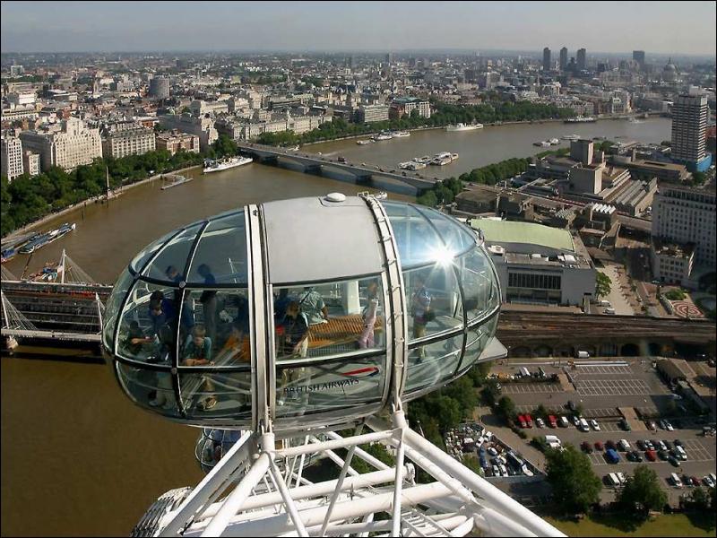 How long is a trip on London Eye?