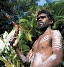 The Aborigines used the boomerang as a ...