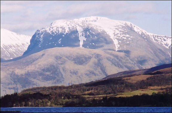 What is the name of Britain's highest mountain?