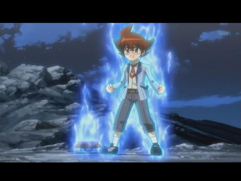Beyblade metal fight 4D/fury (Characters)