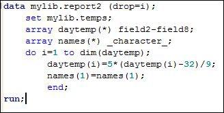 The following code is submitted. What are the results?