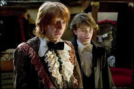 Harry Potter is going to the christmas ball with :