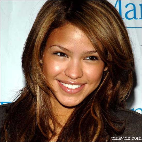 Cassie. R&B singer. Filipina?