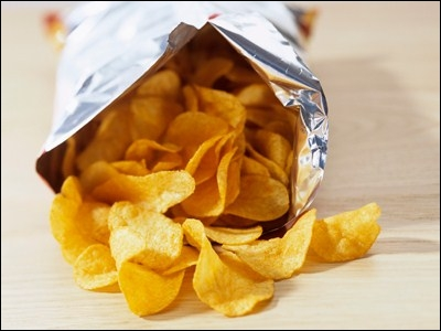 Which Packet Of Crisps The Contain Most Fat?