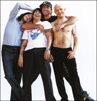 What is the name of the lead singer for Red Hot Chili Peppers?