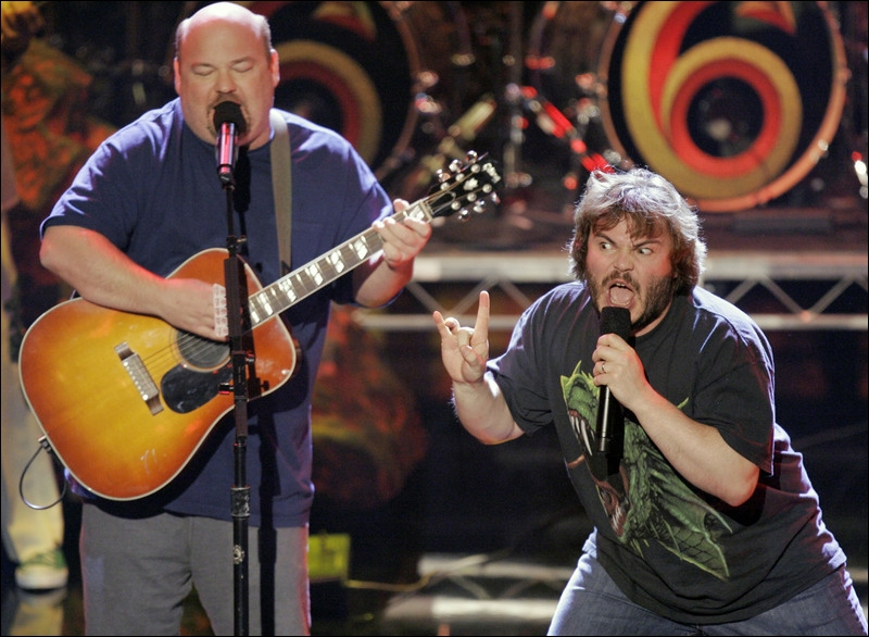 Jack Black formed a band called Tenacious D, who with?