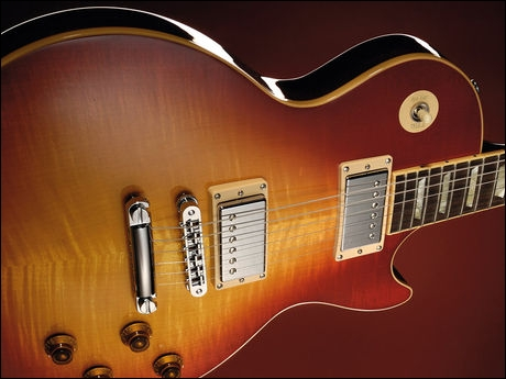 What famous guitar manufacturer made the Les Paul?