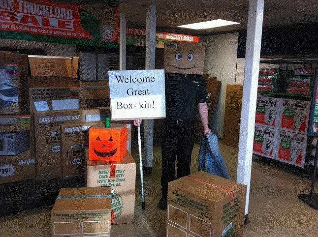 Halloween Boxman