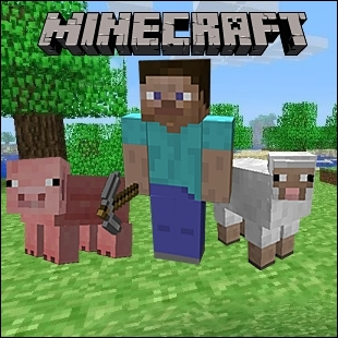 What is the name of the main character in Minecraft?